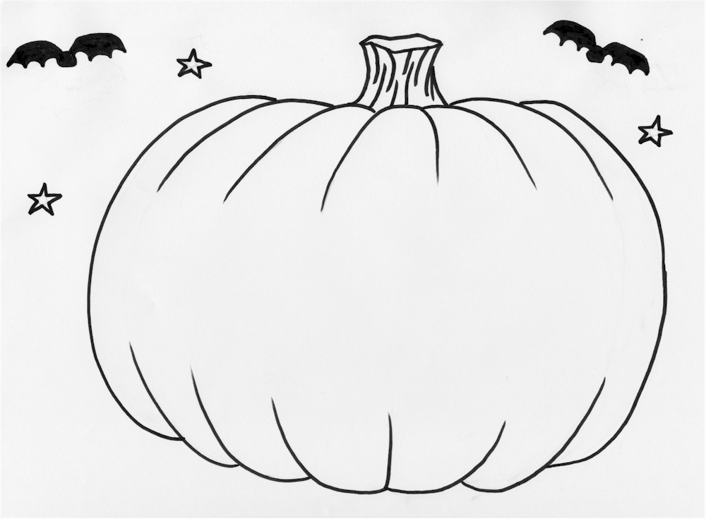 pumpkin pictures to print 195 pumpkin coloring pages for kids pumpkin to pictures print