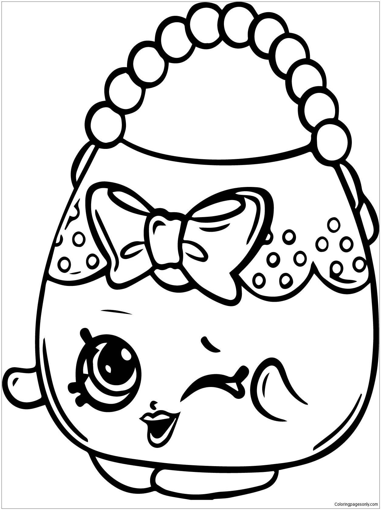 purse coloring page coloring pages purse entertainment gt shopping free coloring purse page