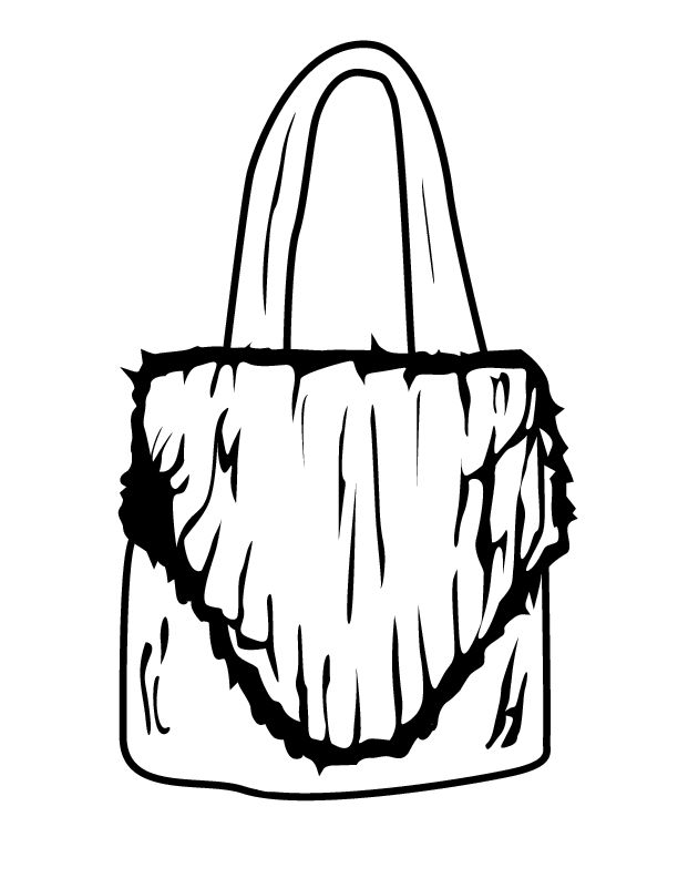 purse coloring page fashion colouring book handbag google search adult purse page coloring