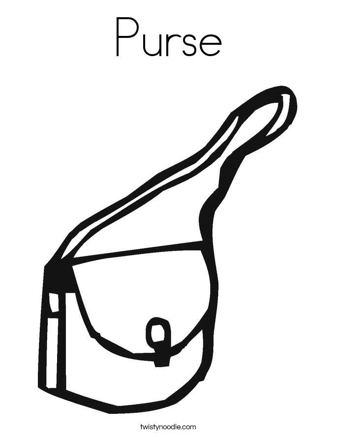 purse coloring page purse free coloring pages coloring pages coloring purse page