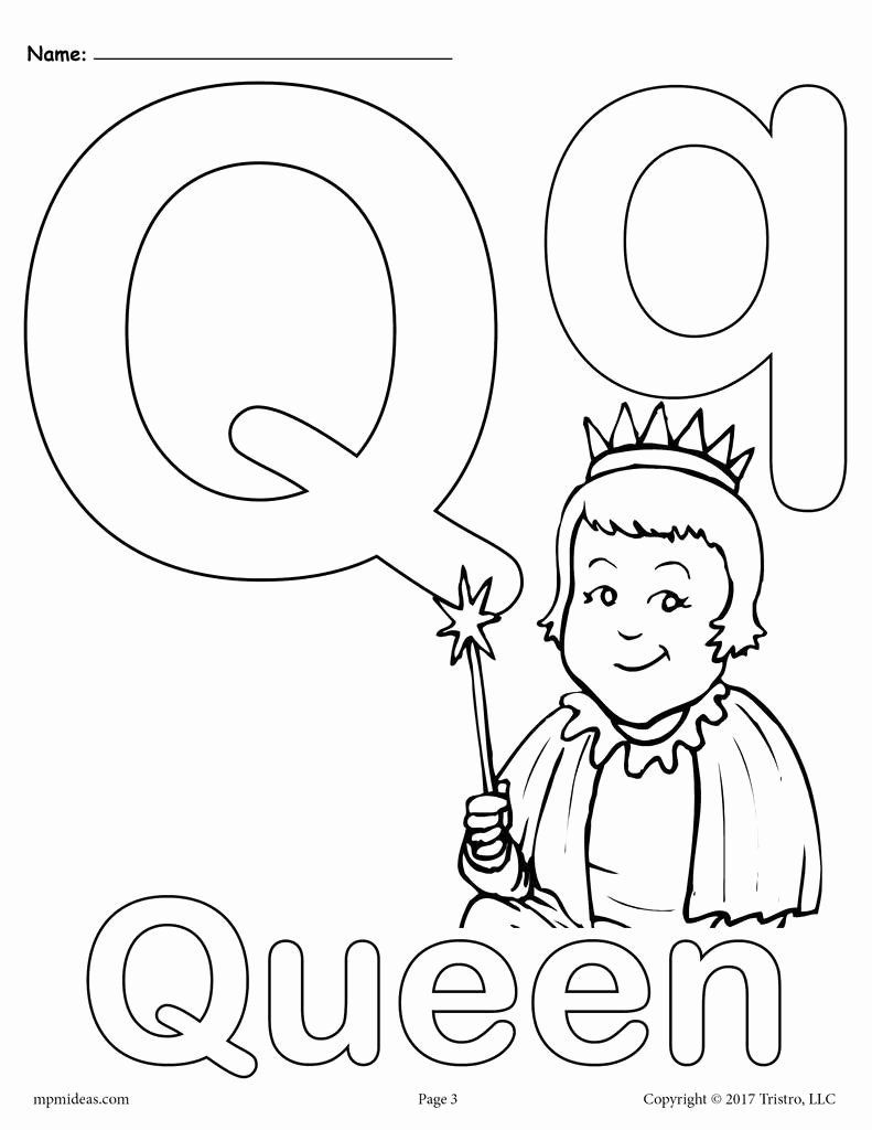 q is for queen coloring page abc primary coloring activity sheet letter q is for queen is page for coloring q