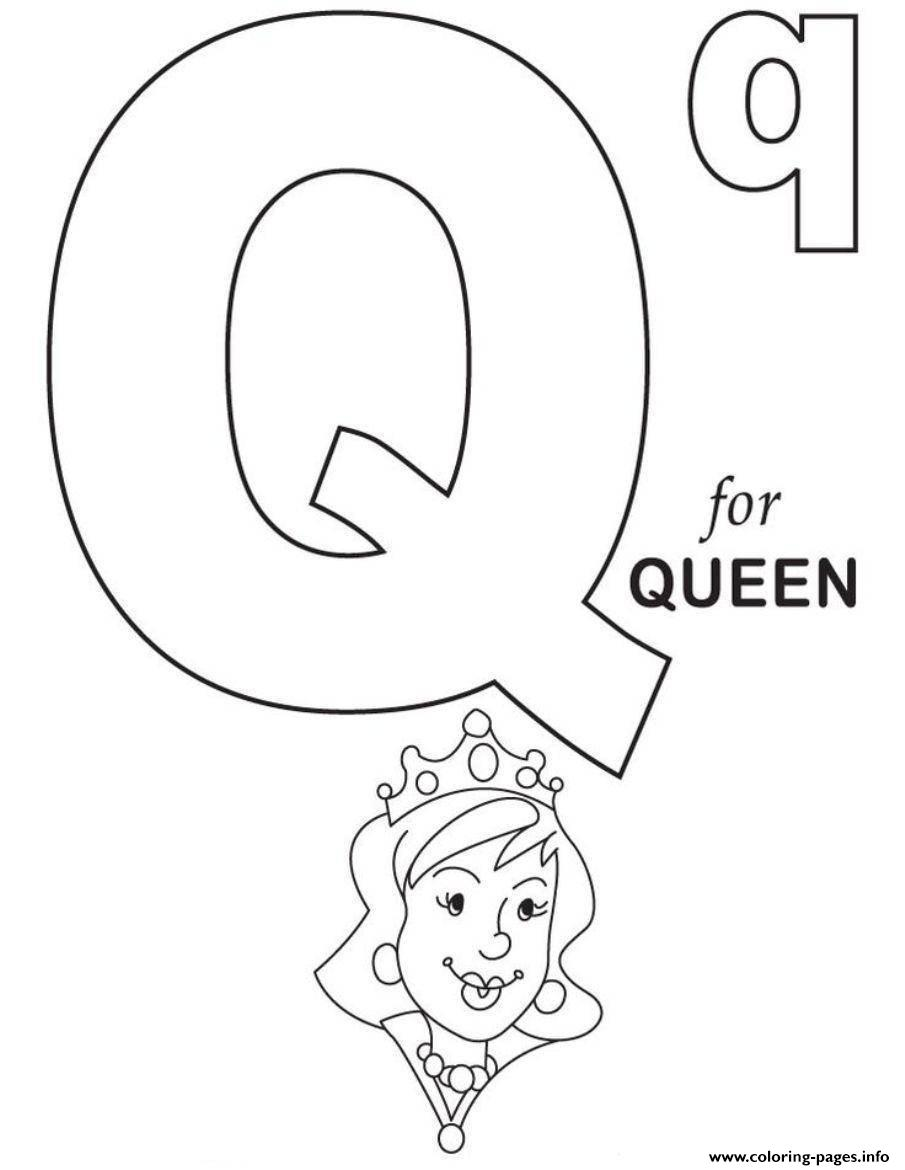 q is for queen coloring page letter q is for queen bee coloring page free printable for page queen q coloring is