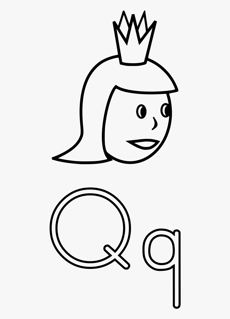 q is for queen queen coloring pages free download on clipartmag queen q is for