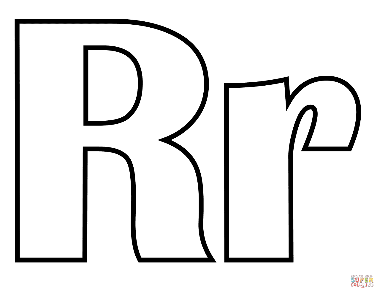r coloring pictures letter r alphabet coloring pages for kids abc pictures r coloring