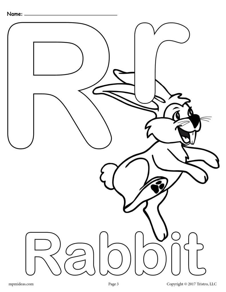 r coloring pictures letter r coloring pages to download and print for free coloring pictures r