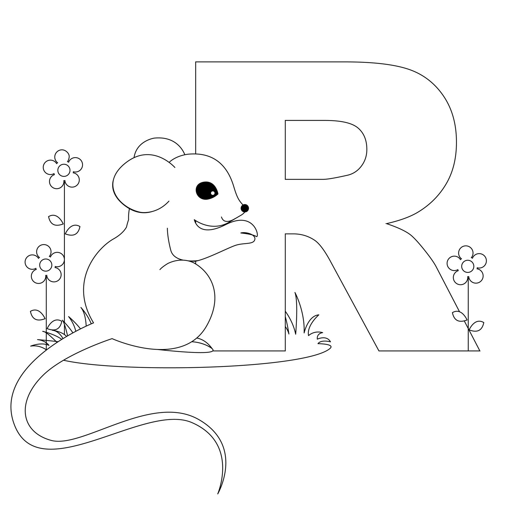 r coloring pictures letter r is for rainbow coloring page free printable pictures r coloring