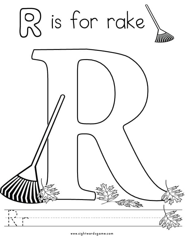 r coloring pictures things that start with r free printable coloring pages coloring pictures r