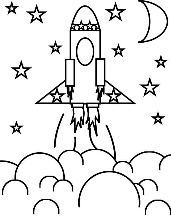 r is for rocket coloring page rocket ship pictures for kids clipartsco is for r coloring rocket page