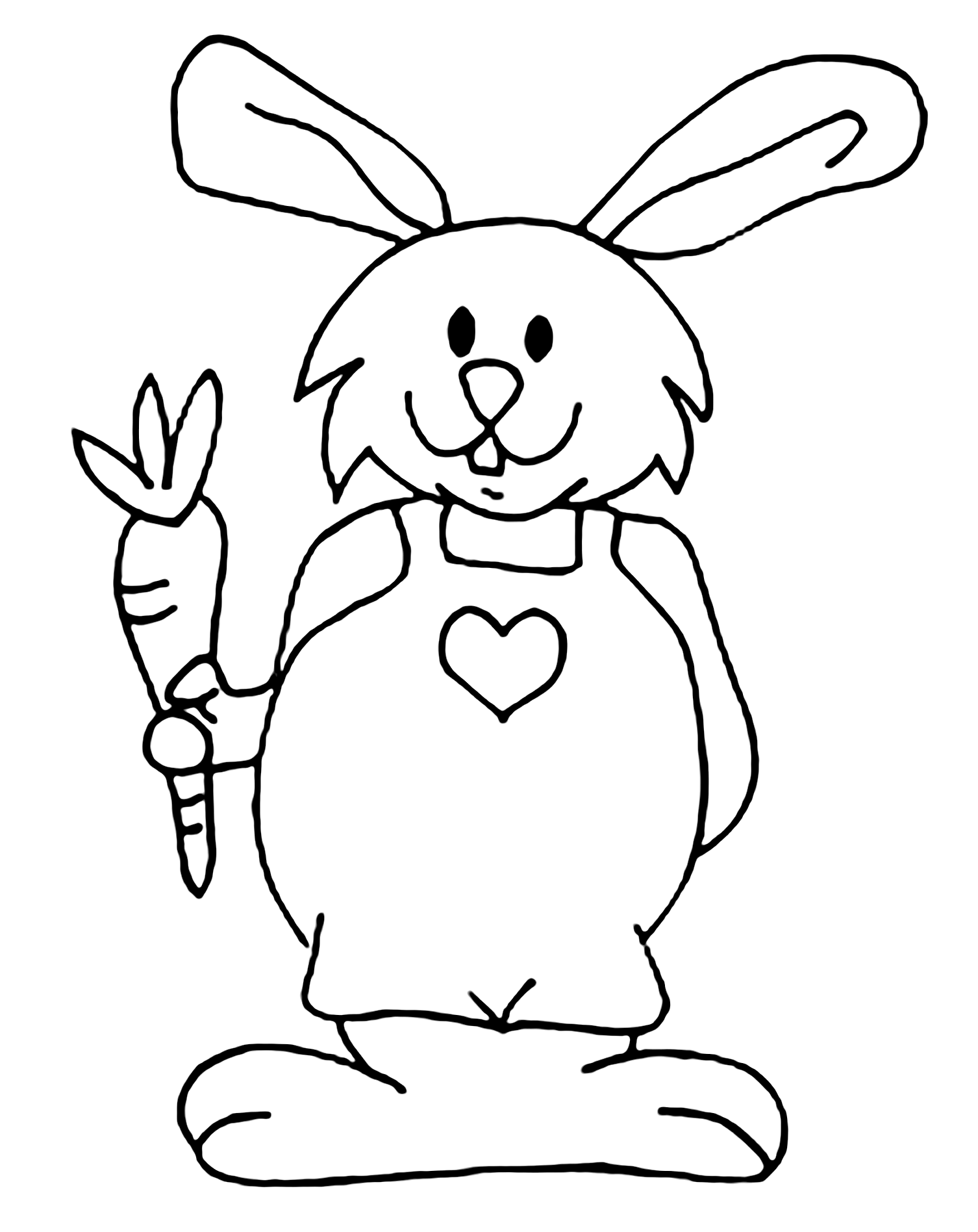 rabbit images for colouring rabbit for children rabbit kids coloring pages rabbit images for colouring