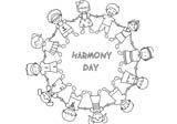 racial harmony day coloring harmonyday coloring pages worksheets festival day coloring harmony racial