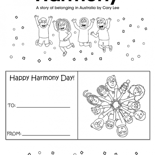 racial harmony day coloring paz ii ideas for peace kid creations global children day harmony coloring racial