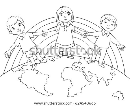 racial harmony day coloring racial harmony day colouring pages sketch coloring page harmony racial day coloring