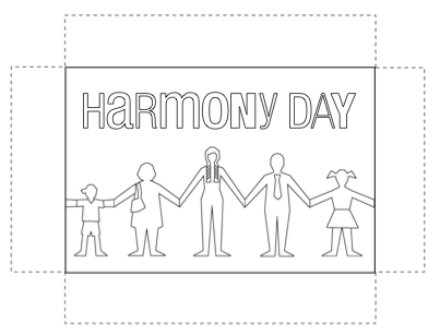 racial harmony day coloring similar images stock photos vectors of racial harmony racial coloring harmony day