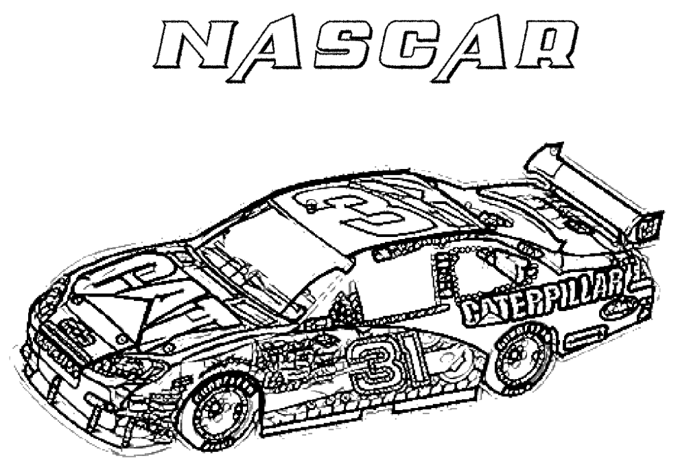 racing car pictures to colour in nascar coloring pages to download and print for free to pictures in car racing colour