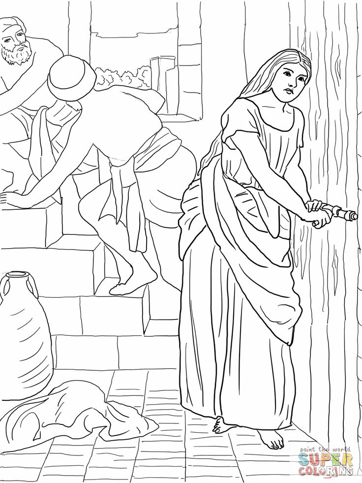 rahab coloring page find the difference rahab bible crafts sunday school page coloring rahab