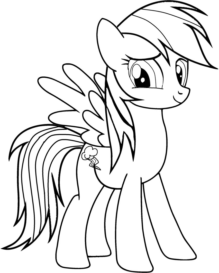 rainbow dash coloring pages free print download colorful rainbow dash coloring pages to coloring rainbow free dash pages