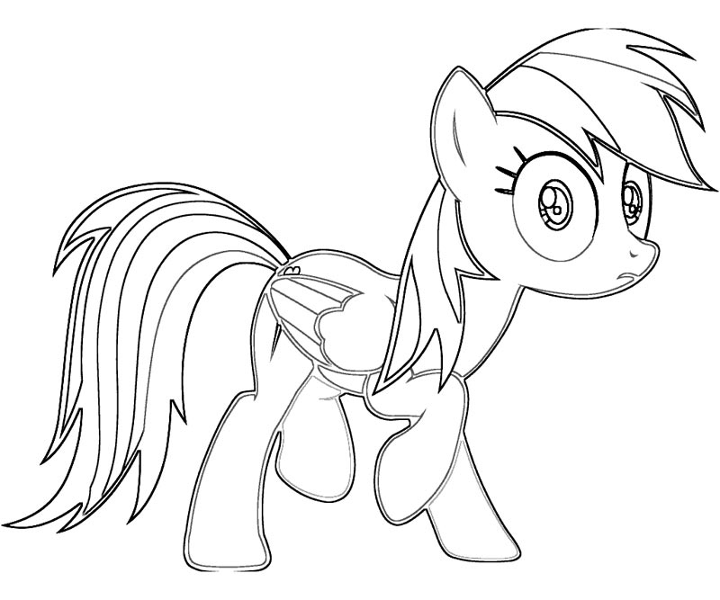 rainbow dash coloring pages free rainbow dash coloring pages my little pony drawing free dash pages coloring rainbow