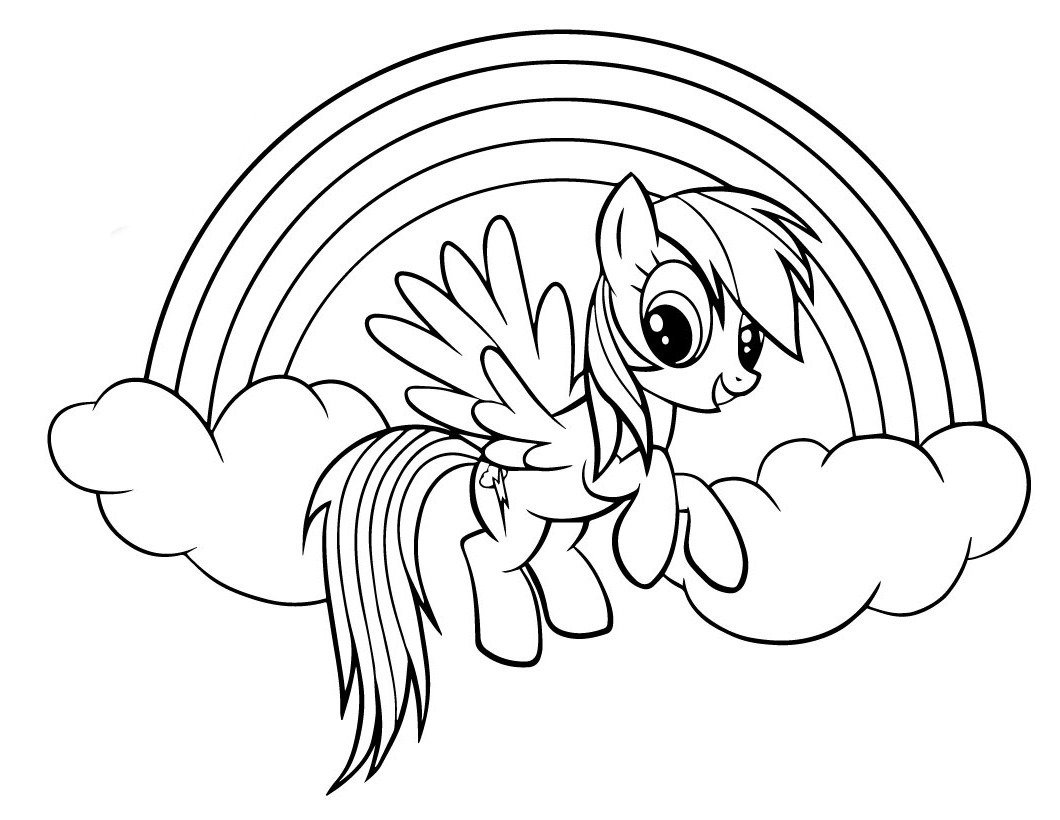 rainbow dash coloring pages free rainbow dash coloring pages to download and print for free dash rainbow free coloring pages