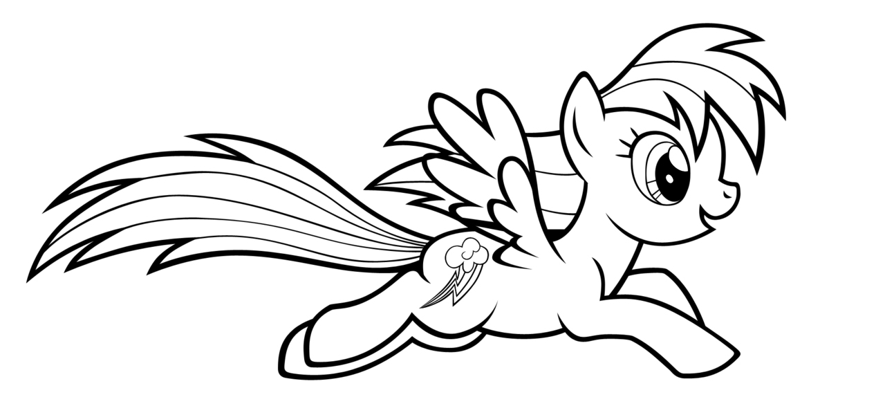 rainbow dash coloring pictures rainbow dash coloring page clipart panda free clipart dash coloring rainbow pictures