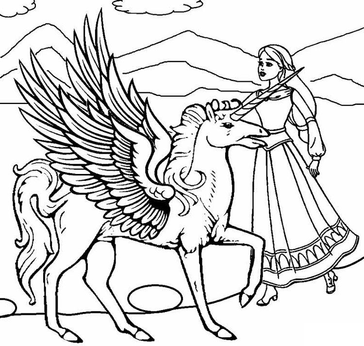 rainbow princess unicorn coloring pages two princess unicorns to color coloring pages printable unicorn princess coloring pages rainbow