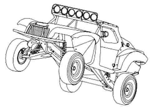 rc car coloring pages off road race short truck coloring page monster truck rc car pages coloring