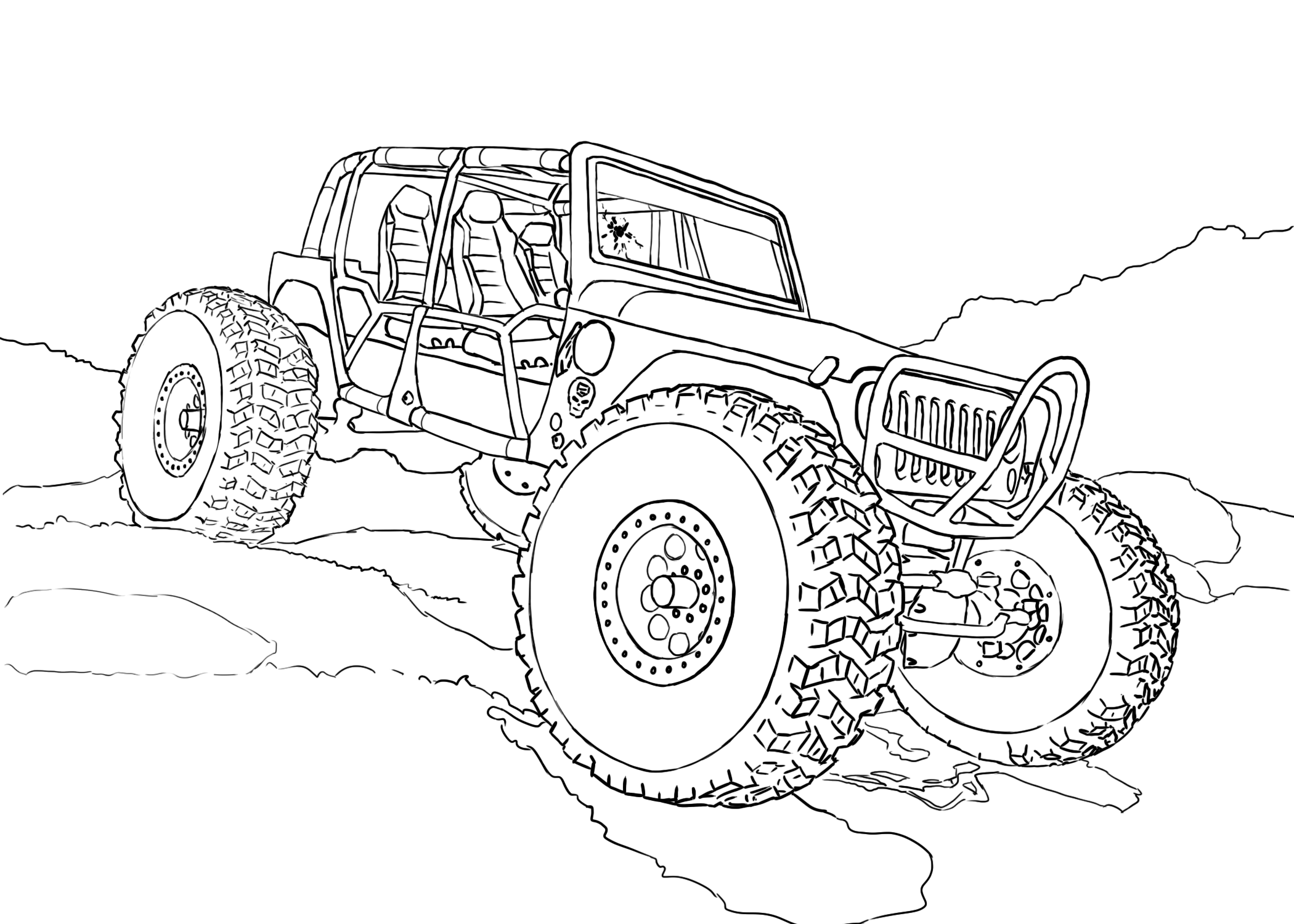rc car coloring pages rc car drawing at getdrawings free download car pages coloring rc