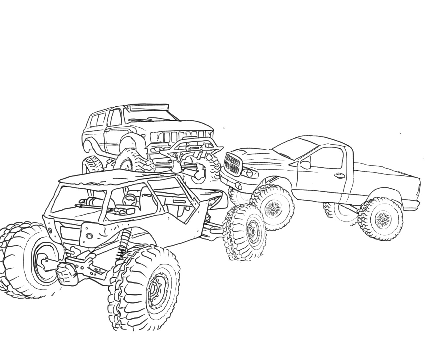 rc car coloring pages turbo charged fun for your child39s race car birthday party coloring car rc pages