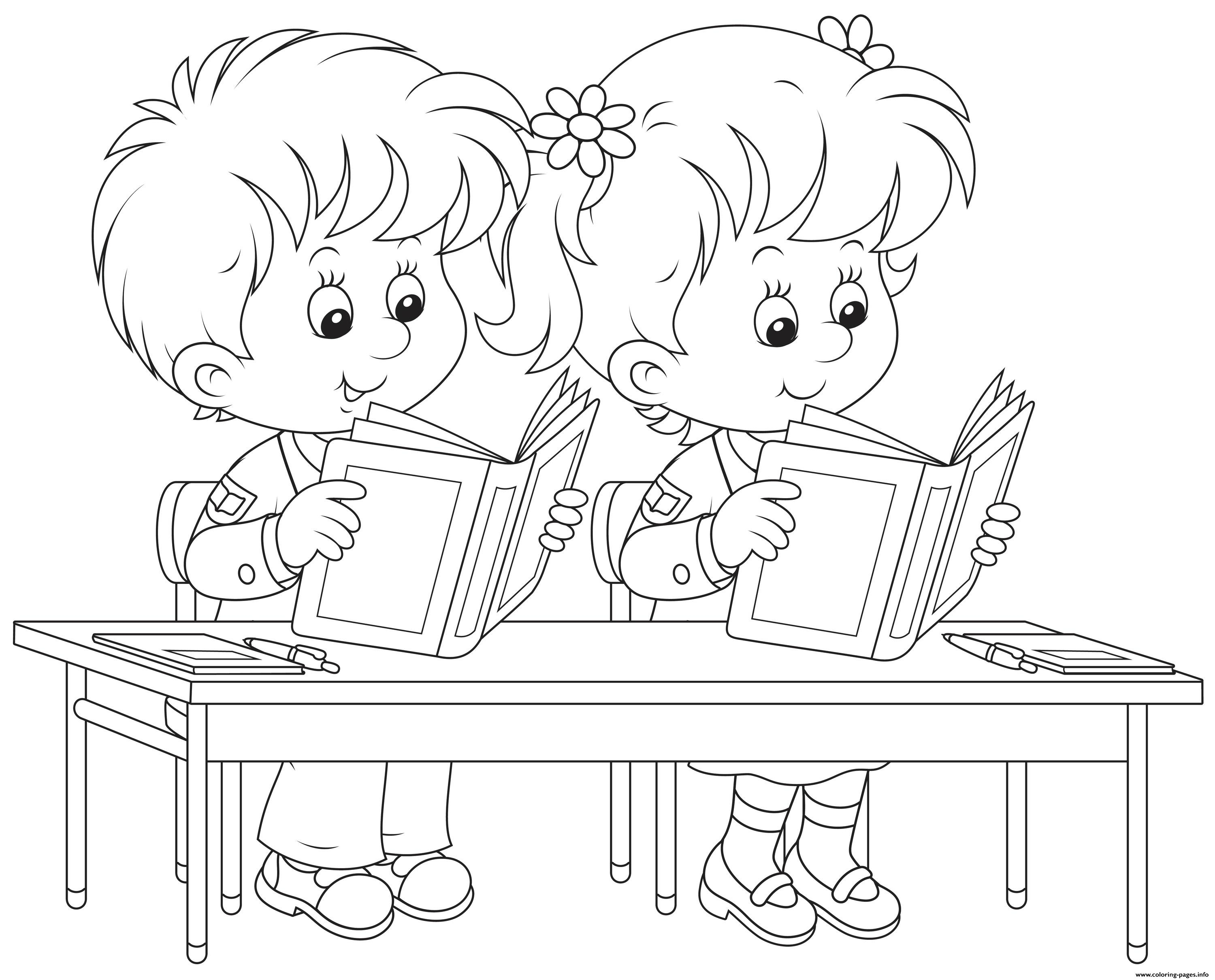 reading coloring worksheets back to school kids reading books coloring pages printable worksheets coloring reading