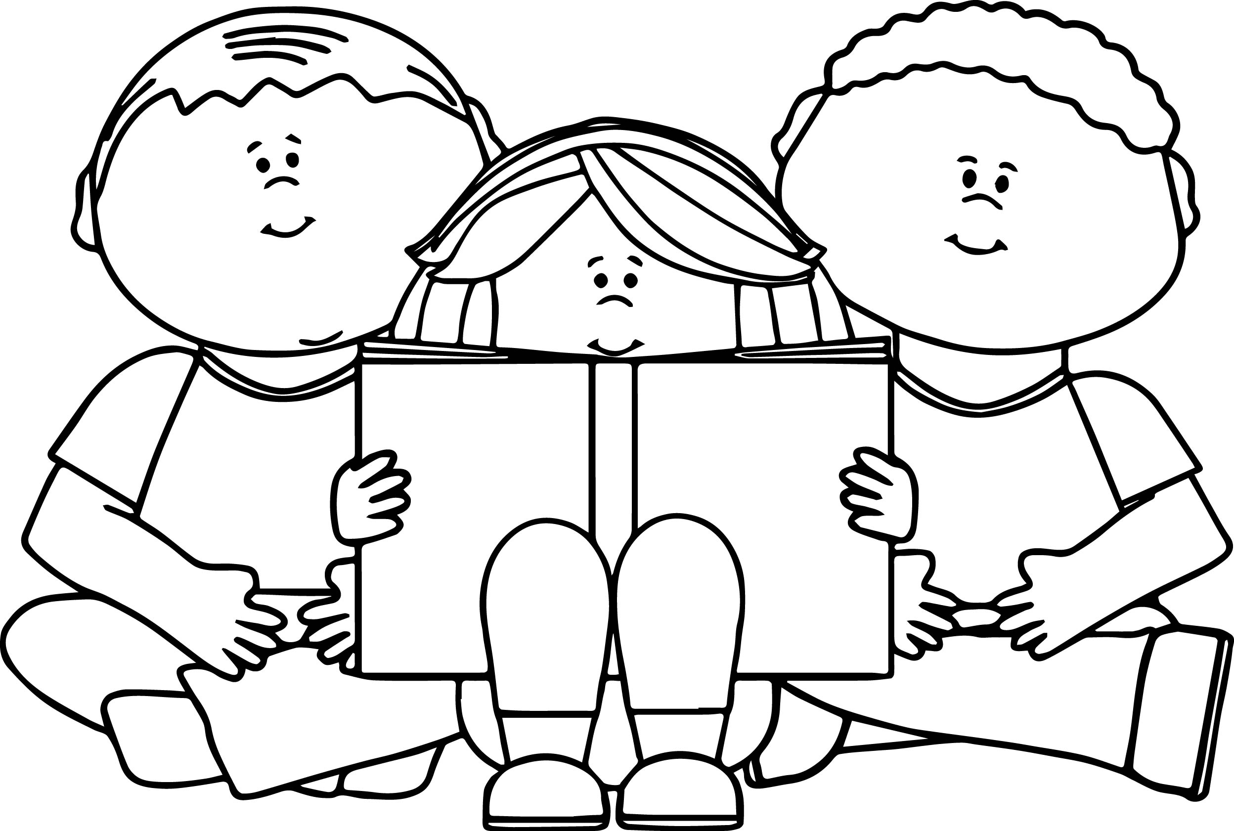reading coloring worksheets children reading a book coloring book page stock coloring worksheets reading