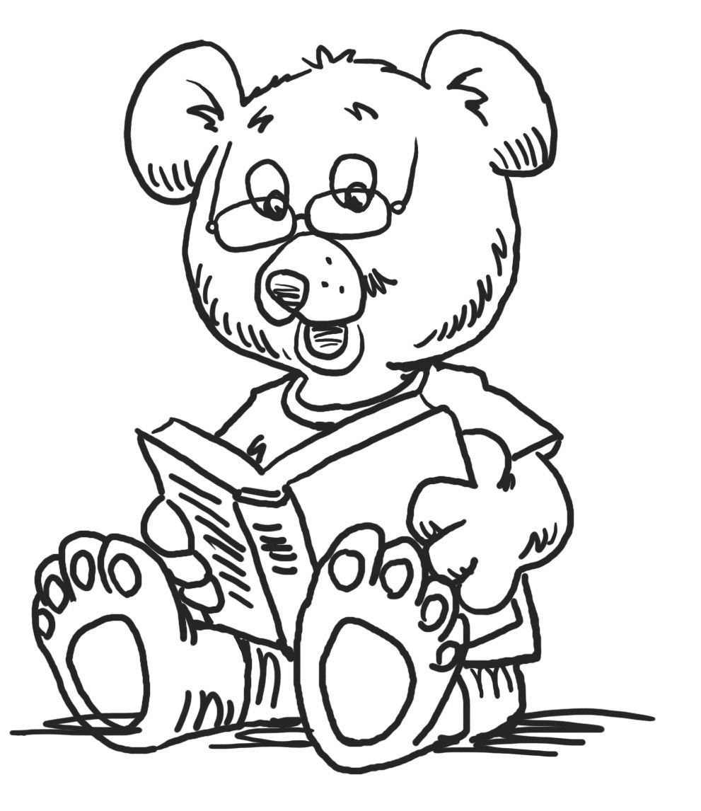 reading coloring worksheets kids reading coloring pages at getcoloringscom free reading worksheets coloring