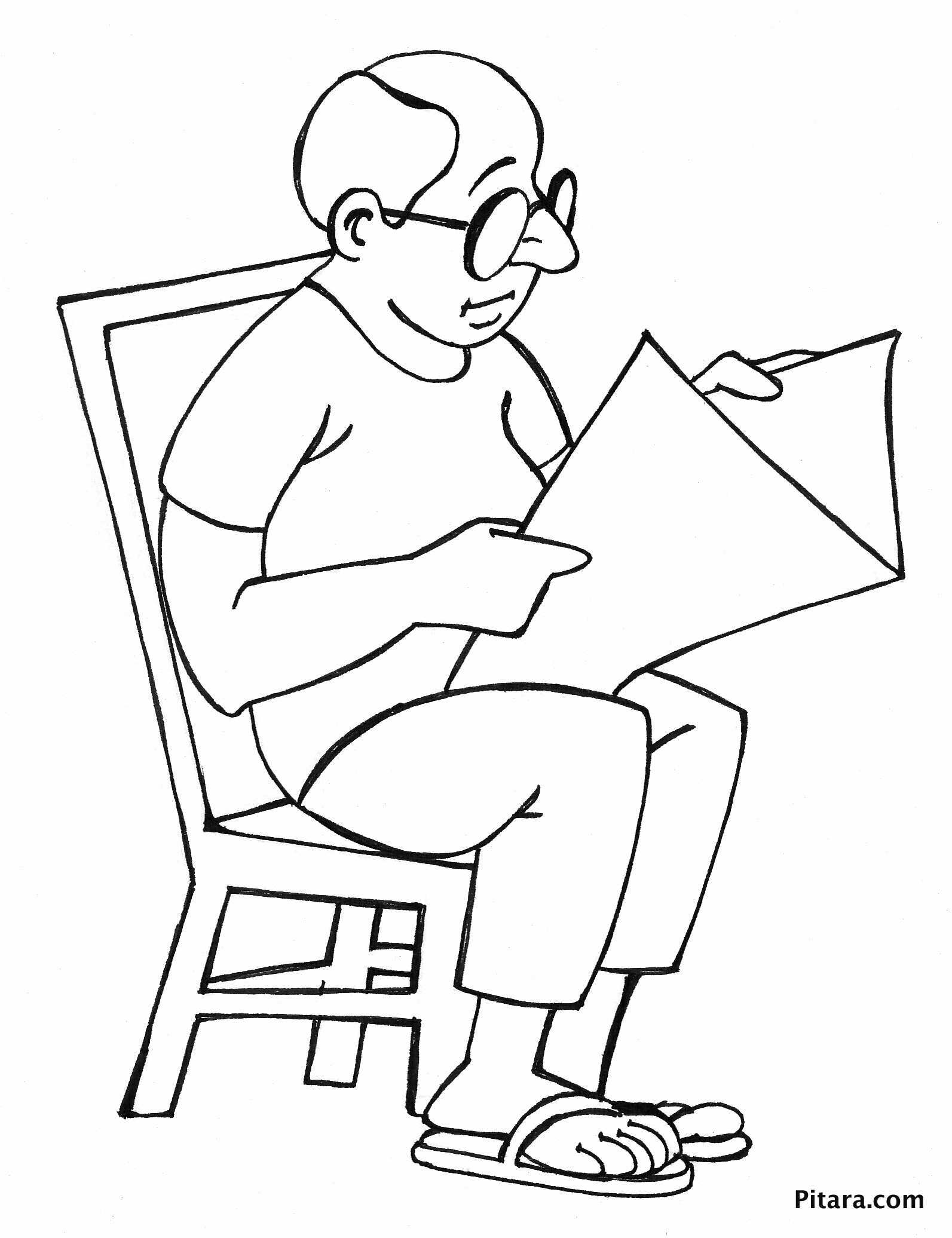 reading coloring worksheets reading newspaper coloring page pitara kids network reading worksheets coloring