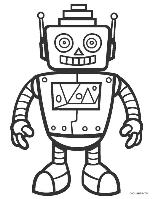 ready to robot coloring pages coloring robot to ready pages robot coloring