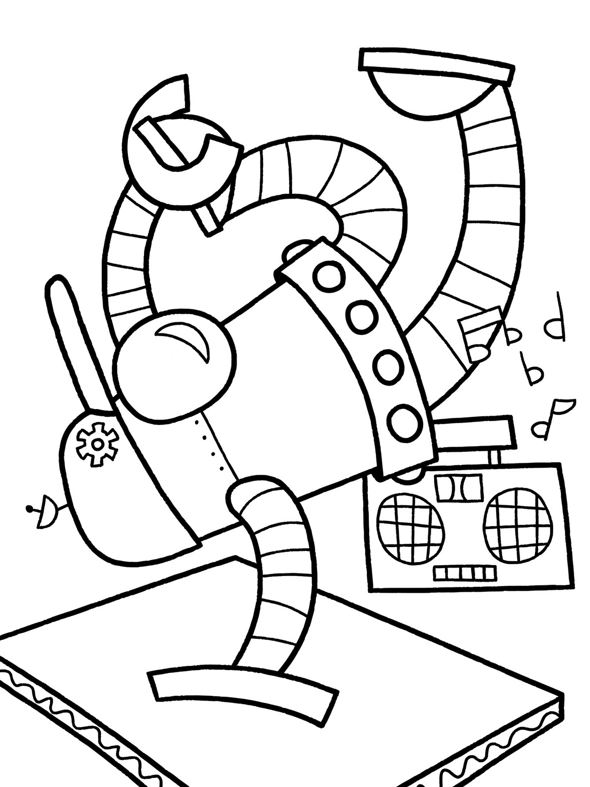 ready to robot coloring pages fighting robot coloring pages at getdrawings free download pages to robot ready coloring