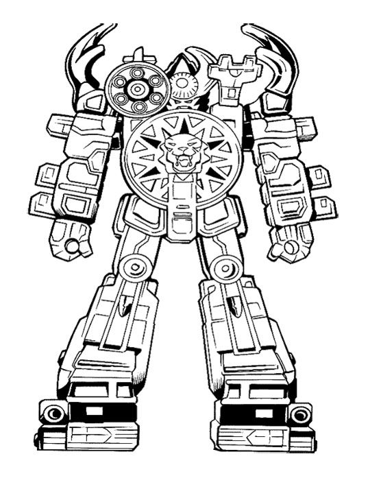 ready to robot coloring pages the megazord is ready to fight coloring page to pages robot ready coloring