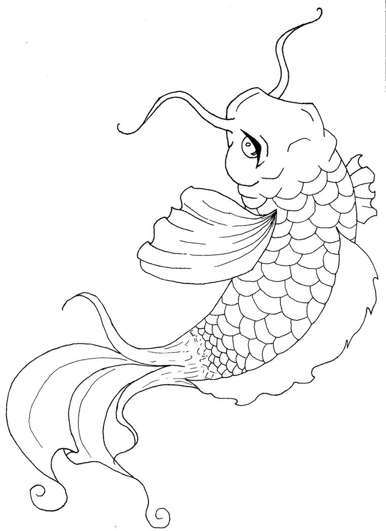 realistic koi fish coloring page koi fish coloring pages to download and print for free koi fish page realistic coloring