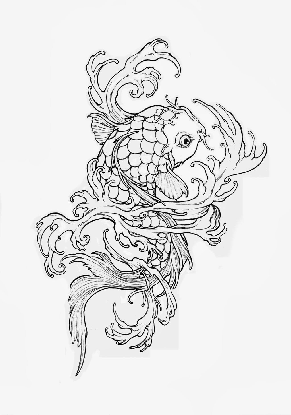 realistic koi fish coloring page koi fish coloring pages to download and print for free realistic page coloring koi fish
