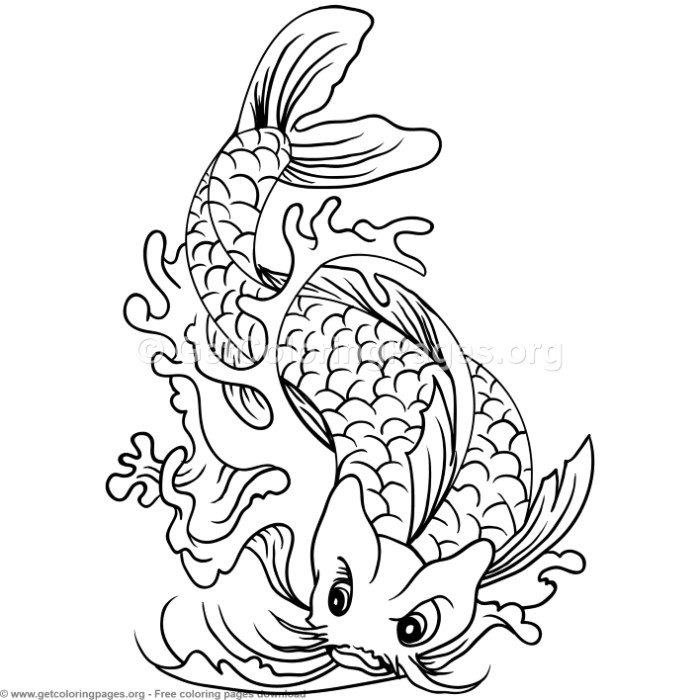 realistic koi fish coloring page realistic fish drawing free download on clipartmag koi realistic page fish coloring