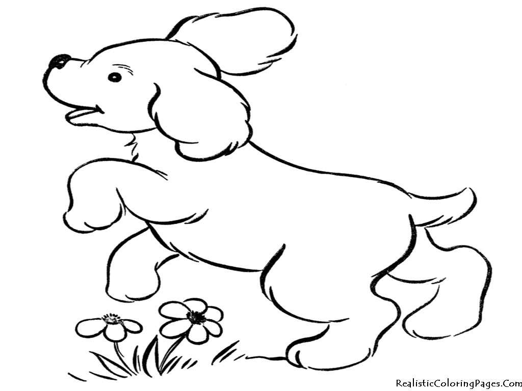 realistic puppy coloring pages realistic puppy coloring pages coloring home coloring realistic puppy pages