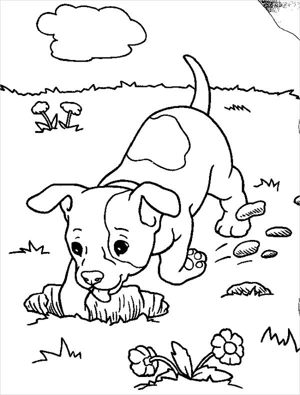 realistic puppy coloring pages realistic puppy coloring pages download and print for free realistic coloring puppy pages