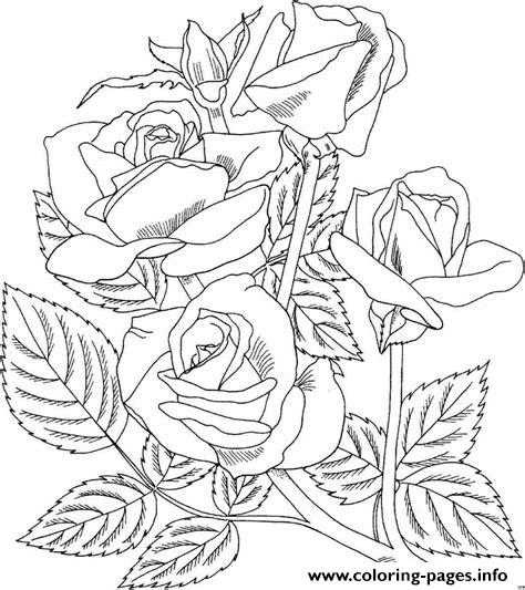 realistic rose flower coloring pages realistic rose coloring pages printable coloring pages rose flower realistic