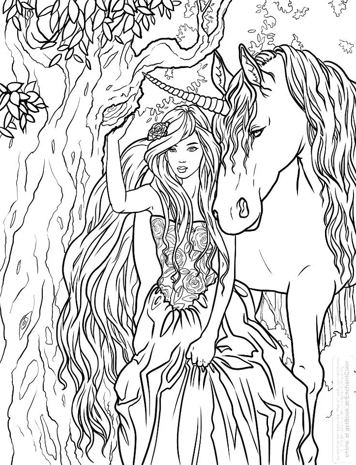 realistic unicorn coloring pages adorable unicorn coloring pages for girls and adults updated realistic coloring pages unicorn