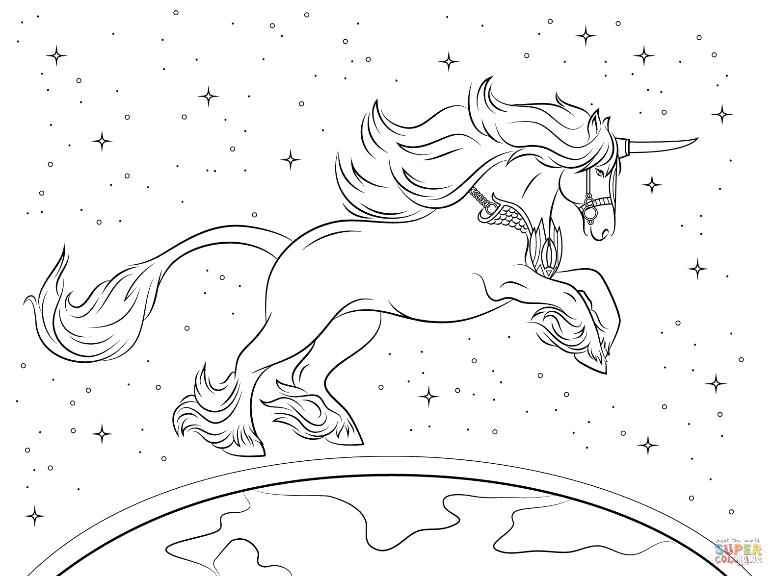 realistic unicorn coloring pages realistic unicorn coloring pages coloring home coloring pages unicorn realistic