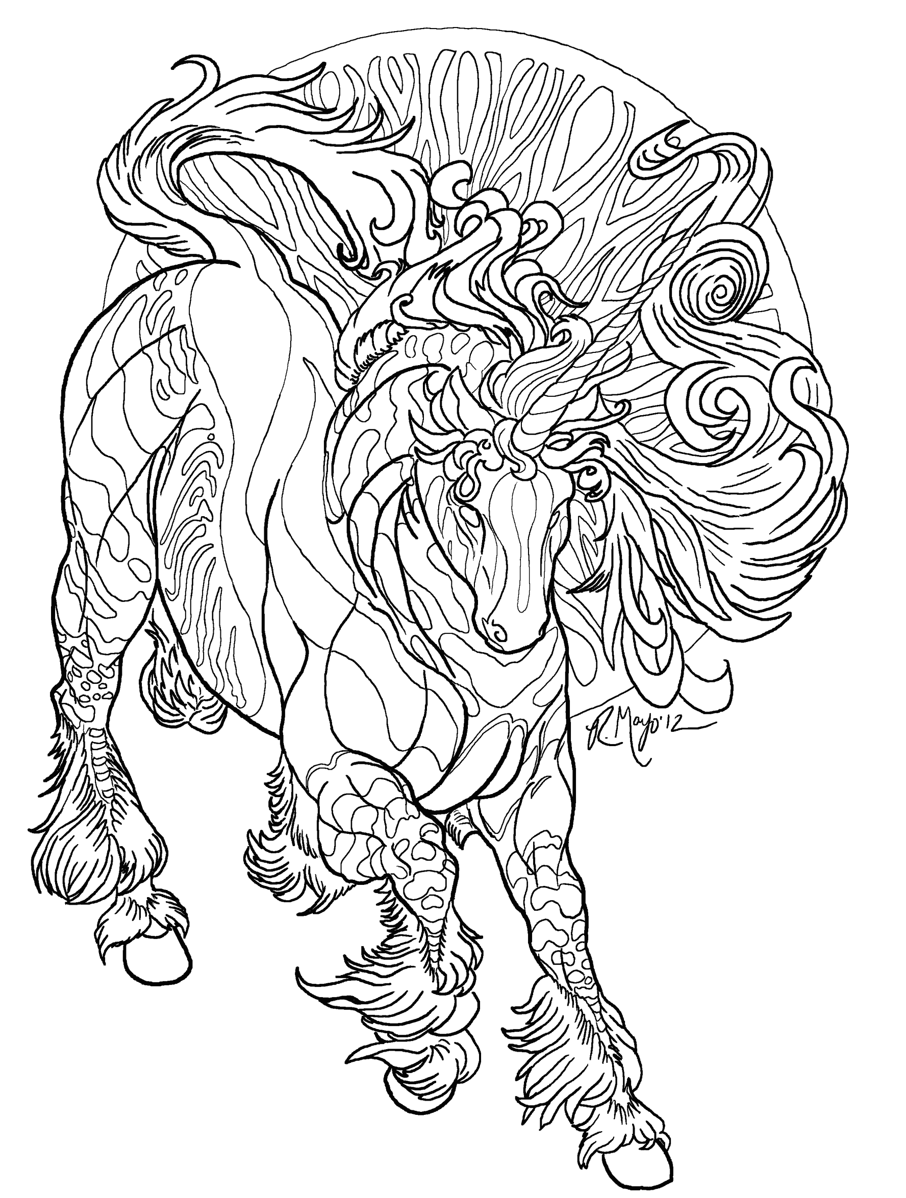 realistic unicorn coloring pages realistic unicorn coloring pages coloring home coloring unicorn pages realistic