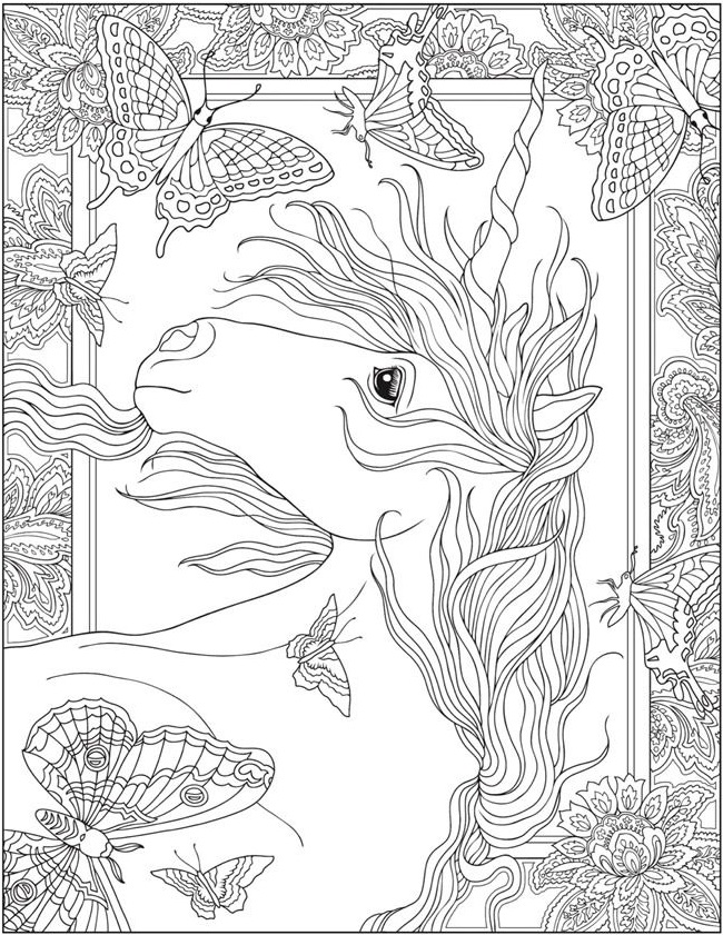 realistic unicorn coloring pages realistic unicorn coloring pages download and print for free realistic unicorn coloring pages