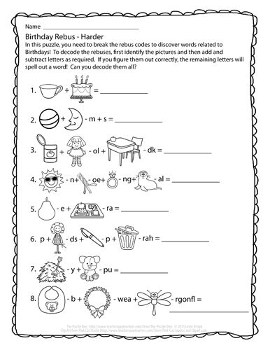 rebus for children 8 best images of rebus puzzles worksheet with answers children for rebus