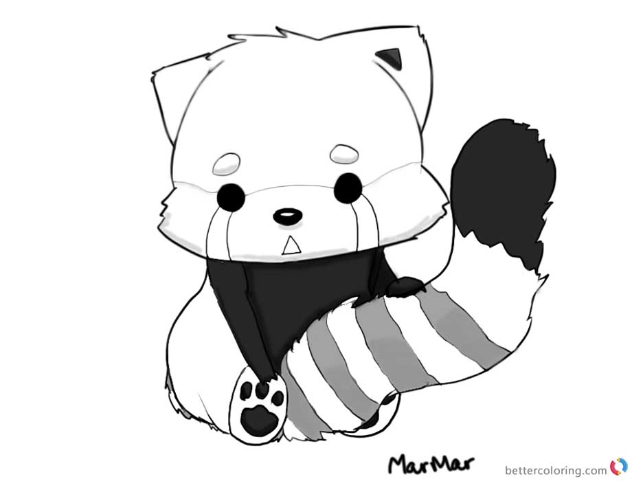 red panda coloring pages red panda coloring pages rest on the tree free printable red panda pages coloring