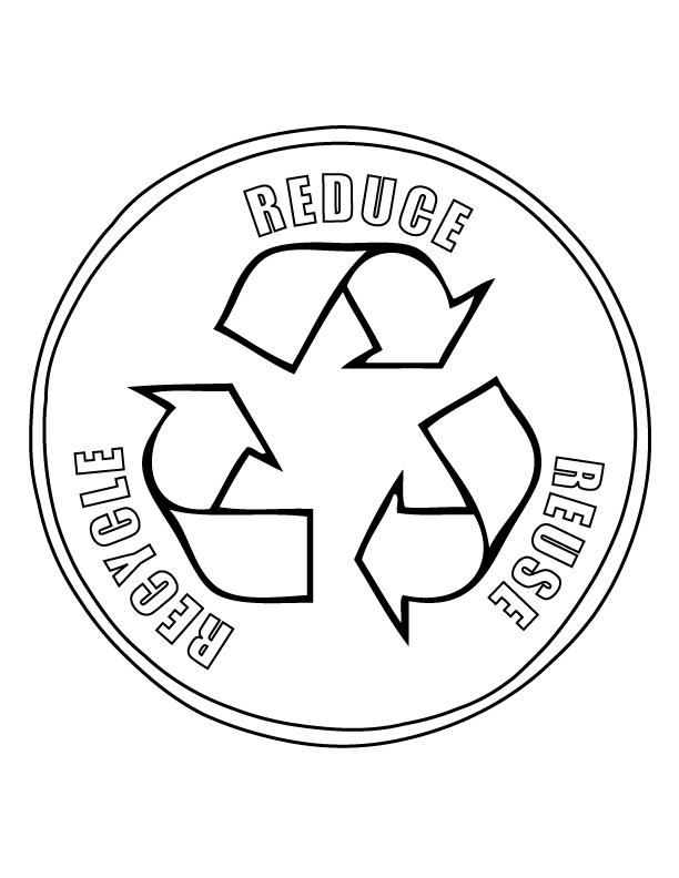 reduce reuse recycle symbol printable bottles and cans recycle bin sign freeology printable reduce recycle symbol reuse
