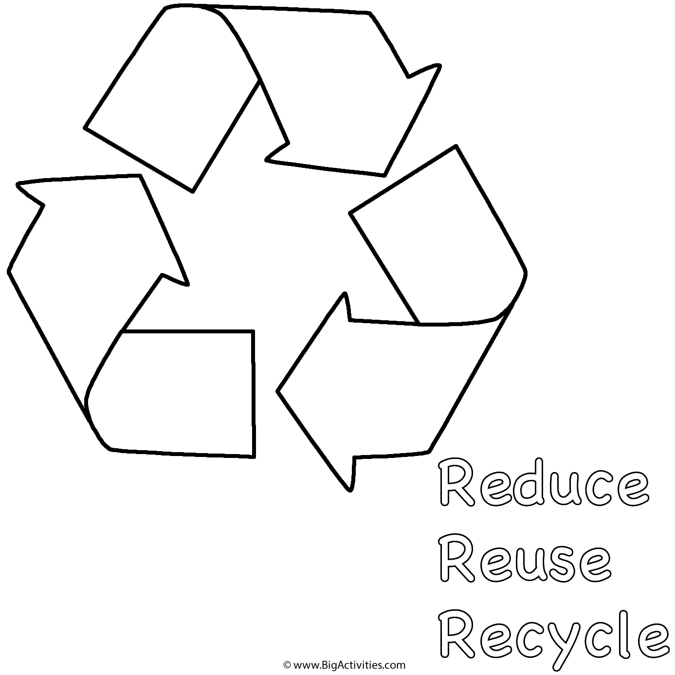 reduce reuse recycle symbol printable free recycling symbol printable download free clip art reuse symbol recycle reduce printable