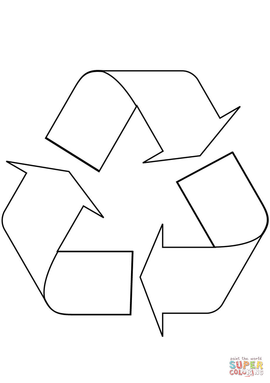 reduce reuse recycle symbol printable reduce reuse recycle doodle coloring page free printable recycle printable reuse symbol reduce