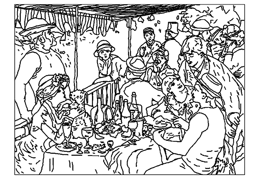 renoir coloring pages free online coloring pages thecolor pages renoir coloring